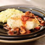 Pan-seared Chilean Sea Bass recipe from Wegmans