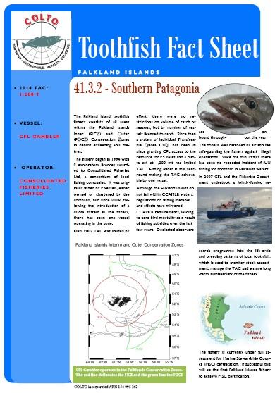 Falklands Toothfish 2014