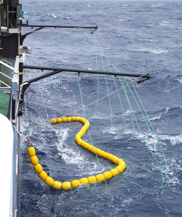 Bird Exclusion Device for Toothfish