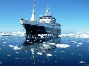 A NZ toothfishing vessel in the Ross Sea